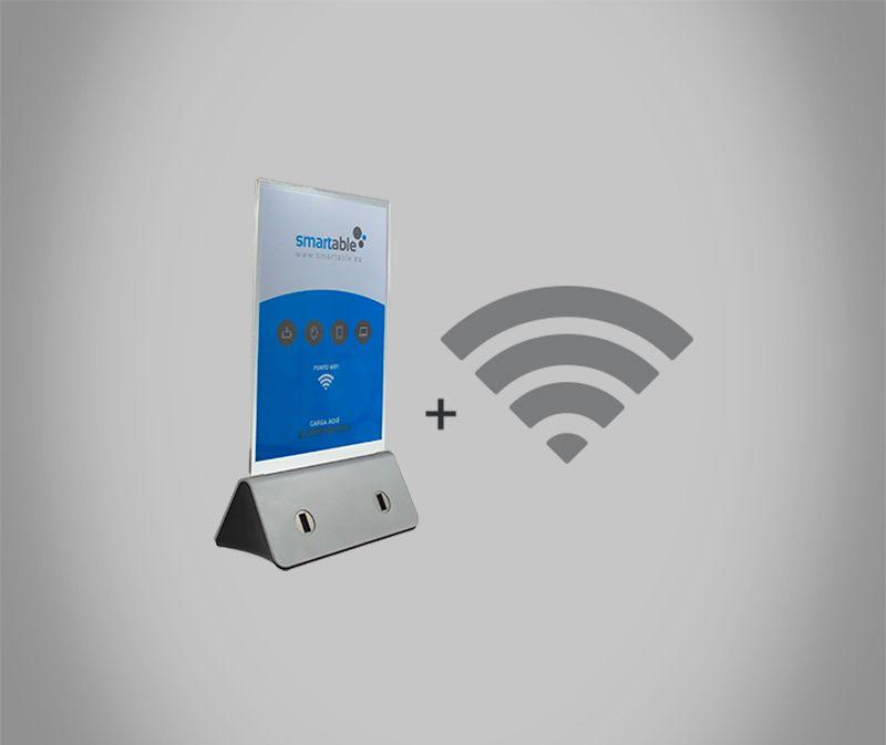 webat estación de carga mas wifi